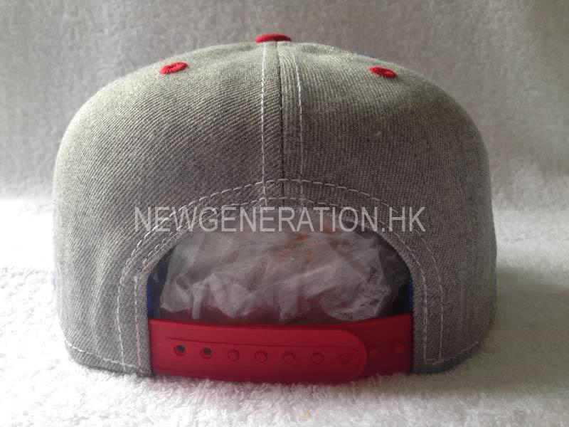 Custom Snapback Cap With 3d Embroidery In Wool Blend 4