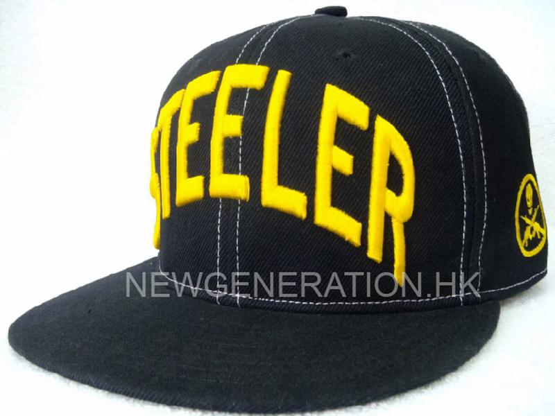 Acrylic Fitted Cap With 3d Embroidery2