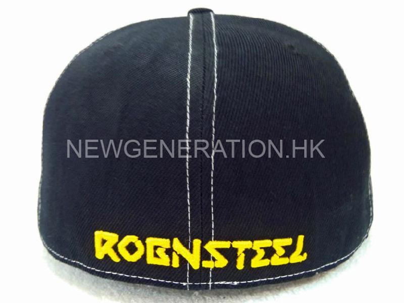 Acrylic Fitted Cap With 3d Embroidery5