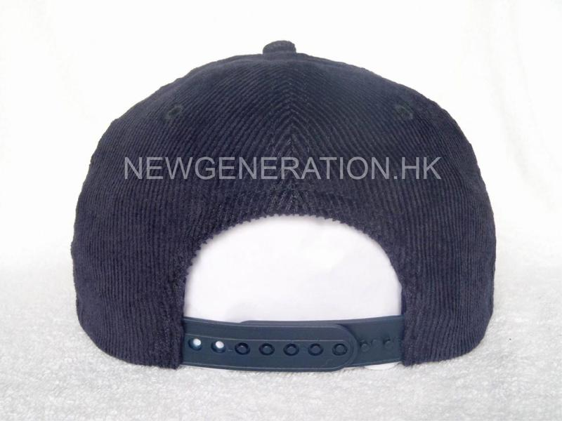 Corduroy Cap With Flat Embroidery5