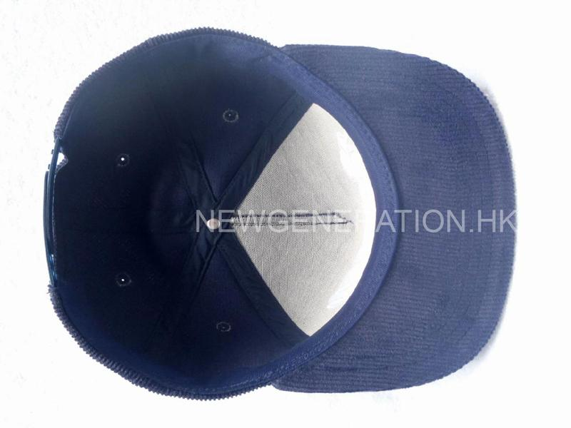 Corduroy Cap With Flat Embroidery6