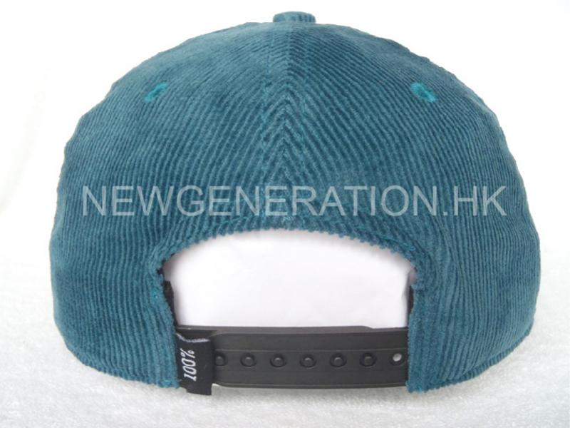 Corduroy Cap With 3d Embroidery5