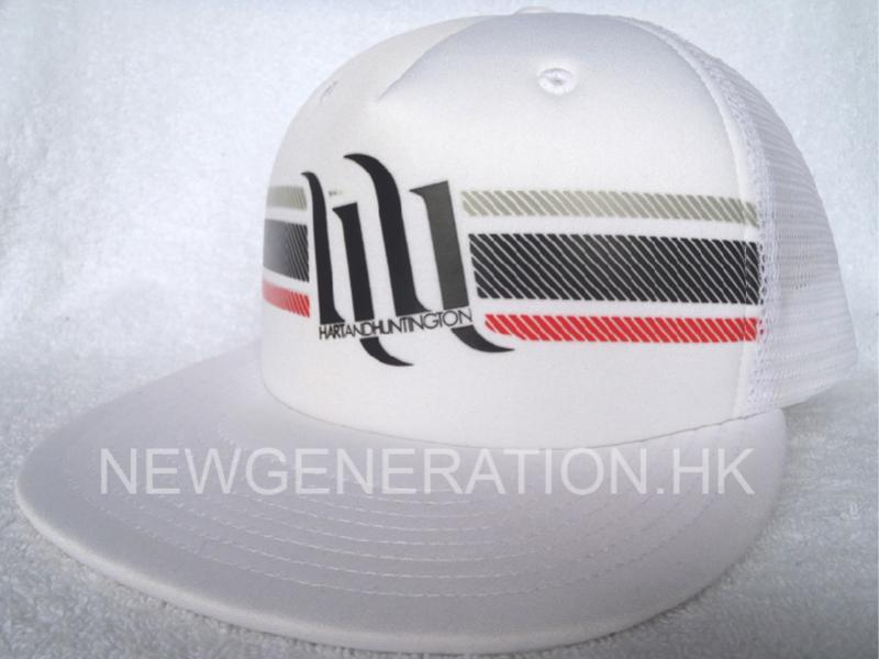 Trucker Hat With Printed Logo2