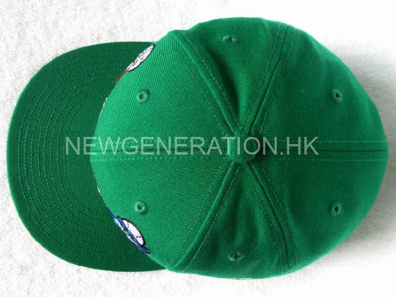 Acrylic Fitted Cap With Flat Embroidery4