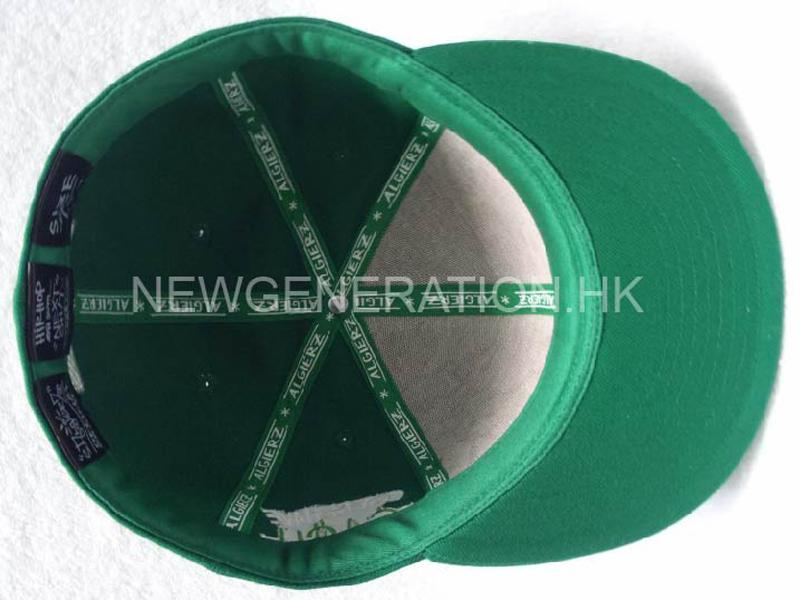 Acrylic Fitted Cap With Flat Embroidery6