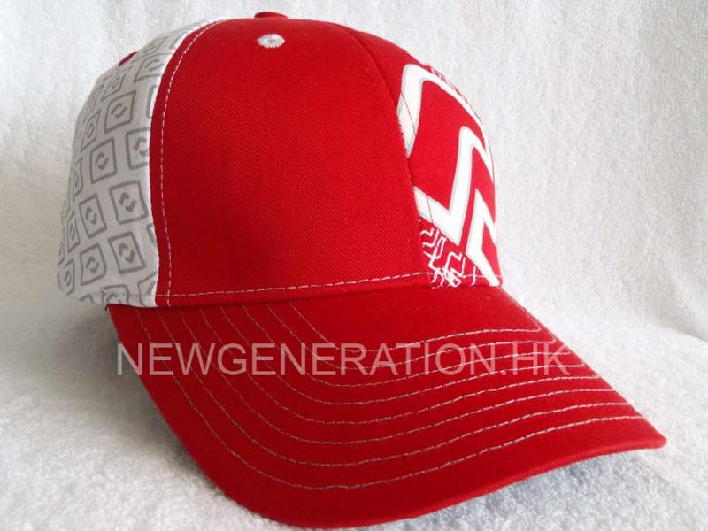 Baseball Cap With Printed Logo