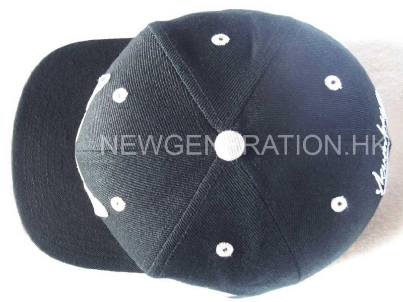 Acrylic Snapback Cap With Flat Embroidery3
