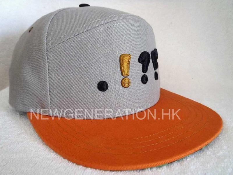 5 Panel High Profile Snapback Cap With 3d Embroidery1