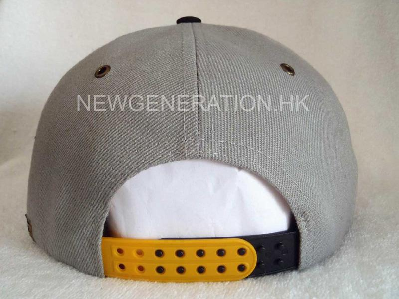 5 Panel High Profile Snapback Cap With 3d Embroidery4