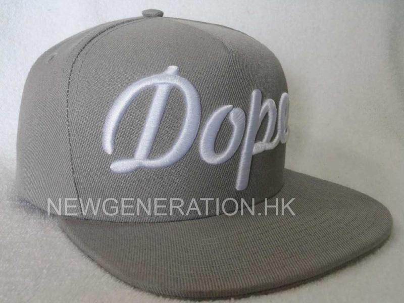 Acrylic Snapback Cap With 3d Embroidery1