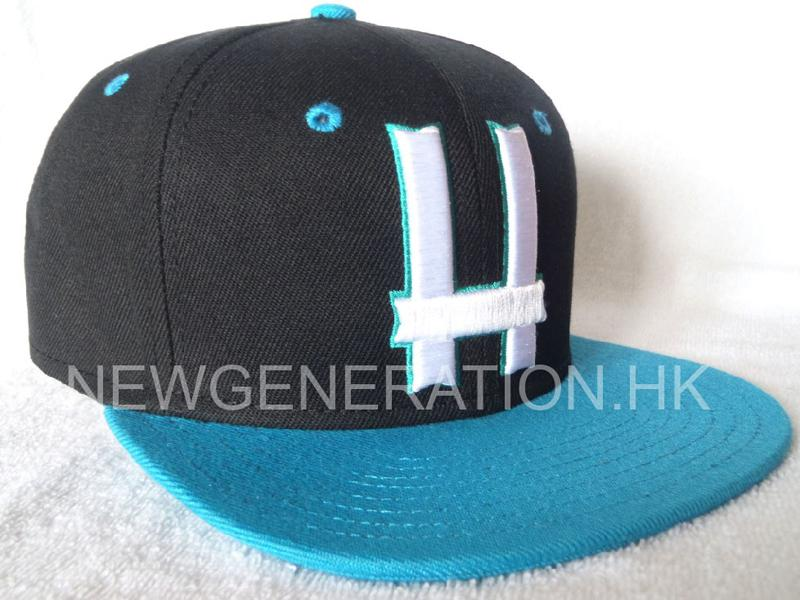 Acrylic 6 Panel Fitted Cap With 3d Embroidery1