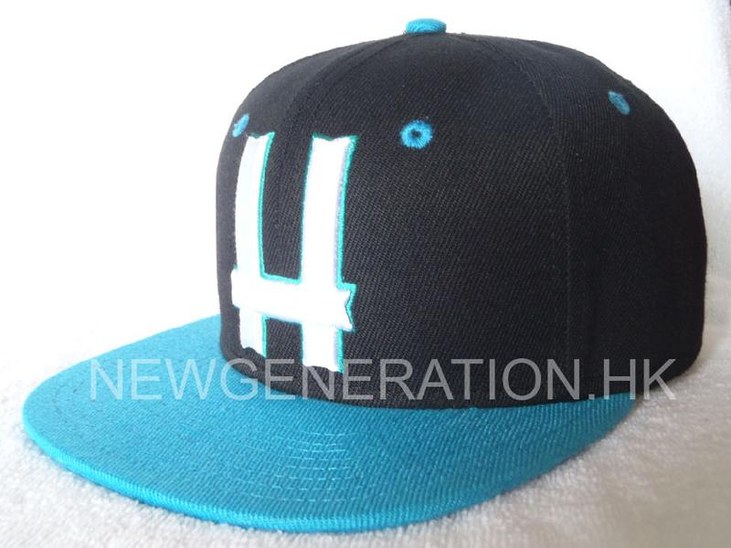 Acrylic 6 Panel Fitted Cap With 3d Embroidery2