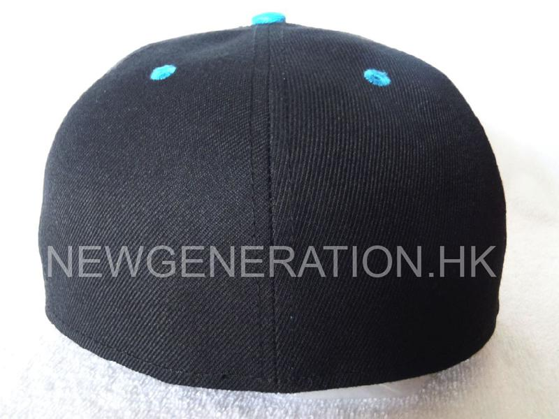 Acrylic 6 Panel Fitted Cap With 3d Embroidery5