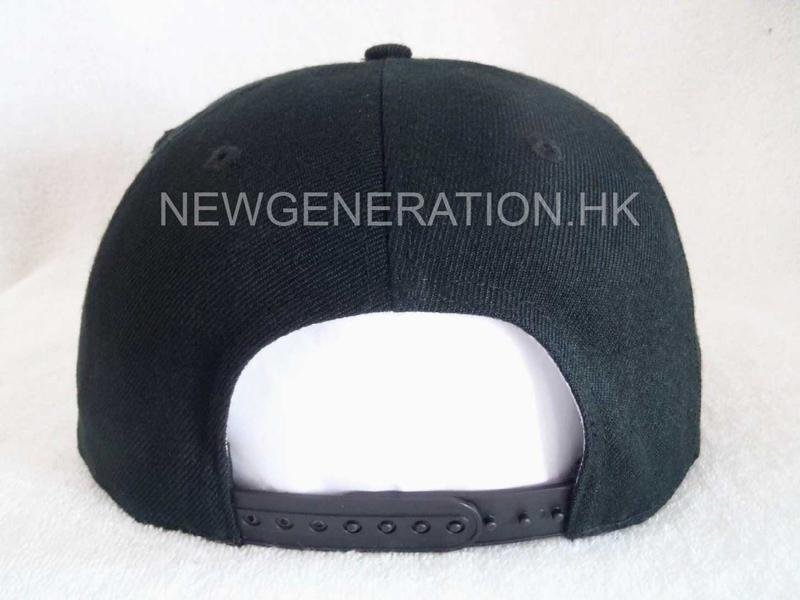 Acrylic Snapback Cap With Flat Embroidery Front Logo5
