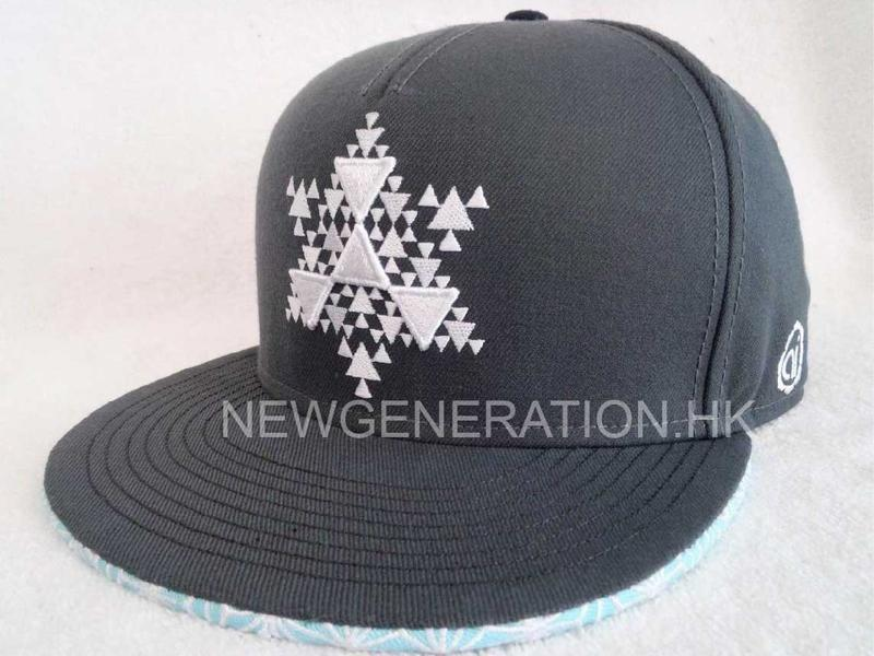 Acrylic 6panel Snapback Cap With 3d Embroidery Front Logo2