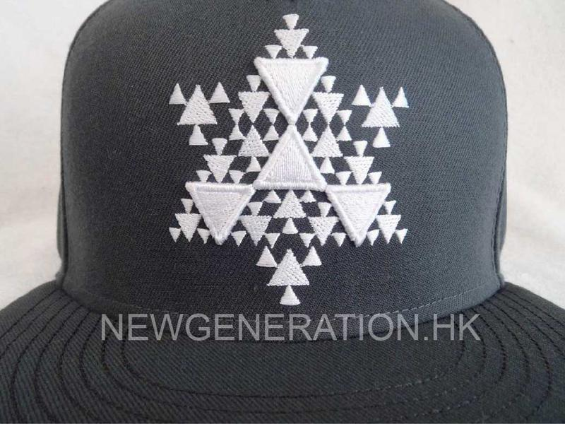 Acrylic 6panel Snapback Cap With 3d Embroidery Front Logo3