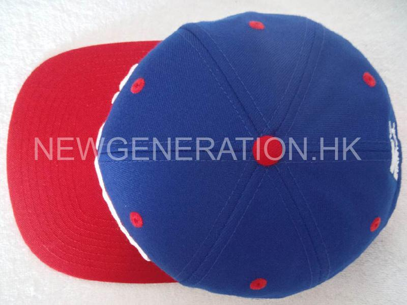 Wool 6panel Snapback Cap With 3d Embroidery Front Logo4