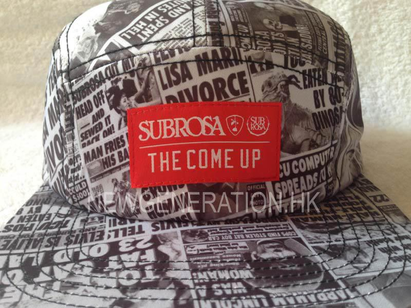 Sublimation Print Camp Cap With Woven Label 3