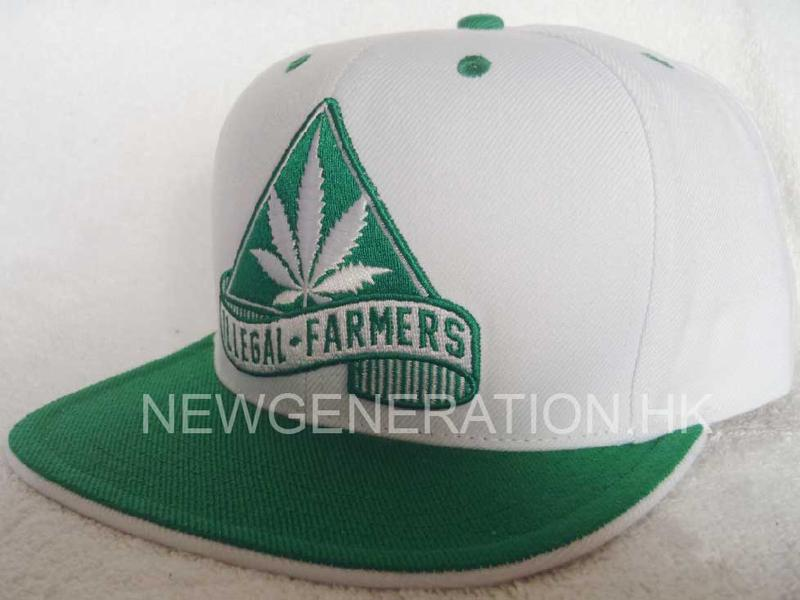 Acrylic Snapback Cap With Flat Embroidery2
