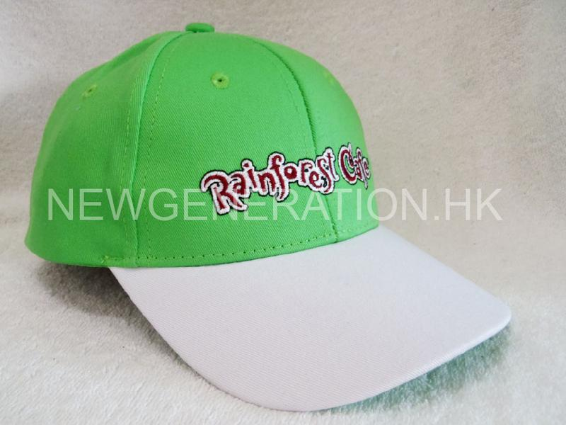 Snapback Cap With Flat Embroidery Logo1