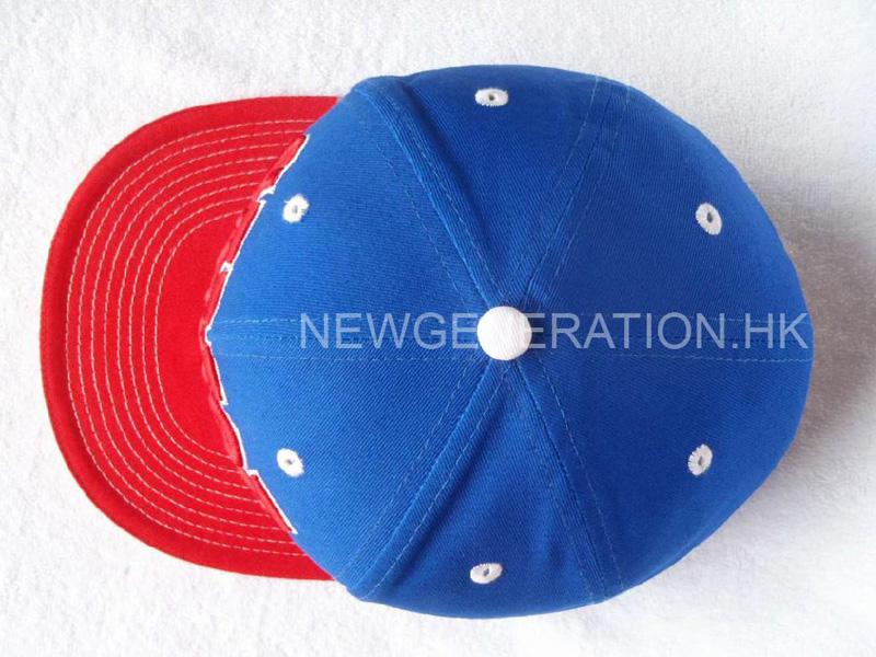 Cotton Snapback Cap With 3d Embroidery4