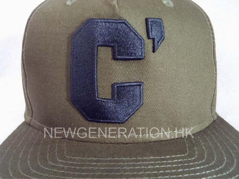 Cotton Snapback Cap With 3d Embroidery Logo3