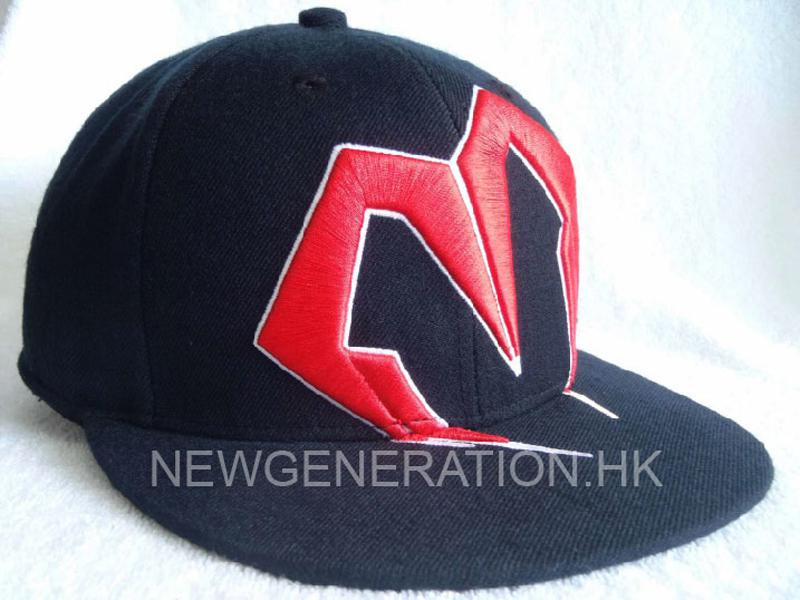 Fitted Cap With 3D Embroidery Logo