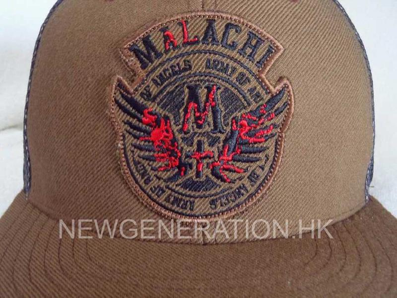 Trucker Hat With Embroidery Patch3