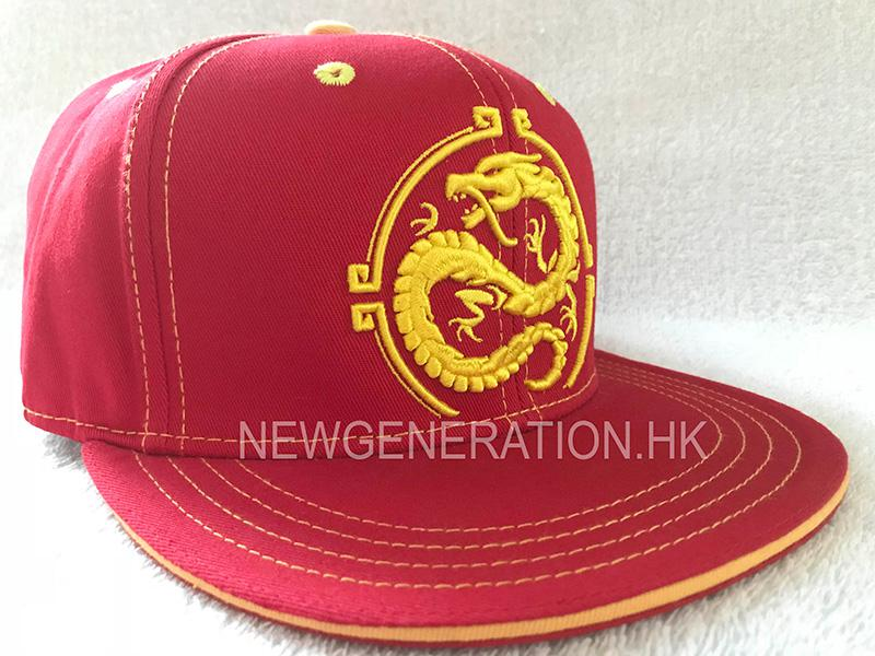 1Custom Cap Manufactured With Detailed Embroidery