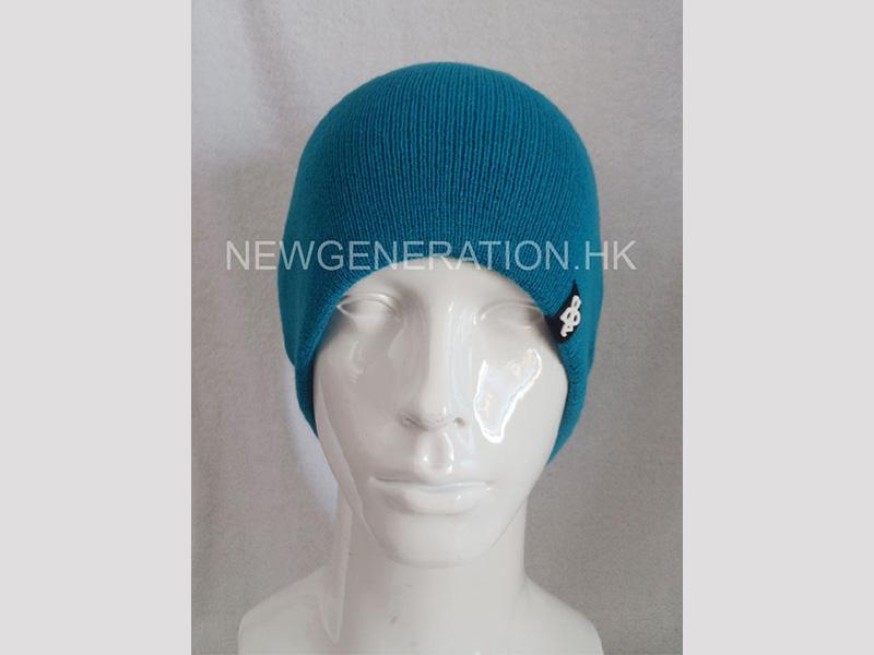 Acrylic Beanie With Rubber Patch1