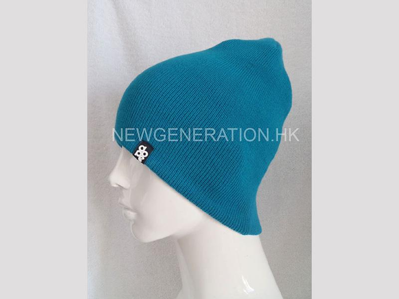 Acrylic Beanie With Rubber Patch2