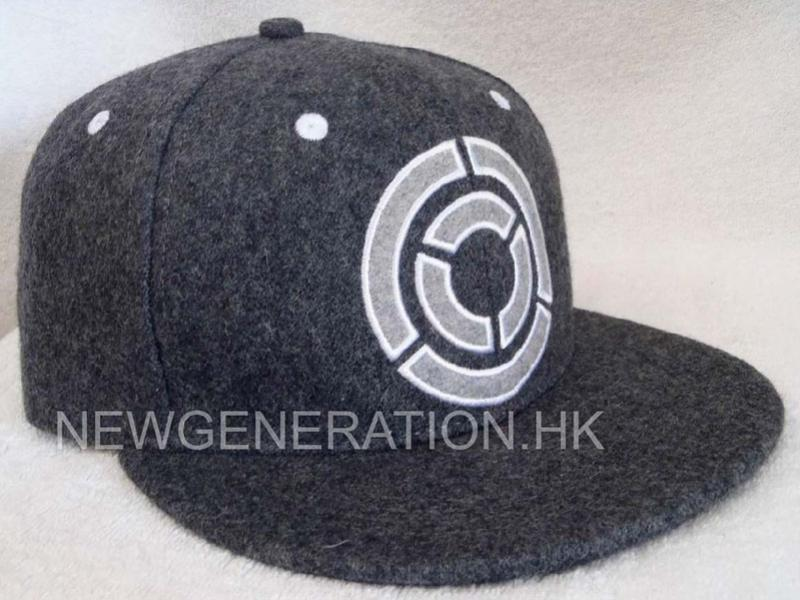 Hair Wool Snapback Cap With Embroidery Logo1