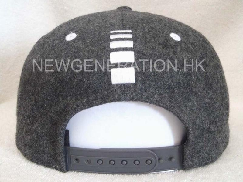 Hair Wool Snapback Cap With Embroidery Logo5