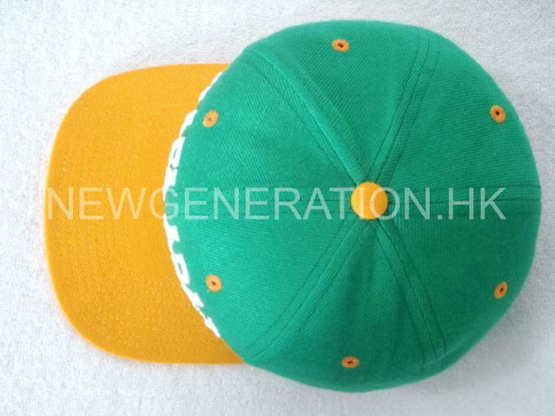 Cotton 3d Embroidery Snapback Cap4