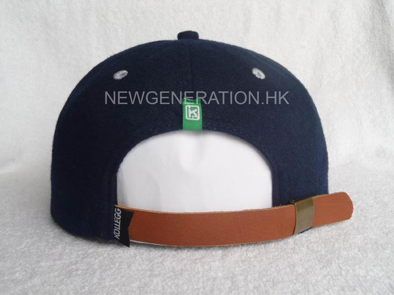 Wool Cap With Leather Strap5