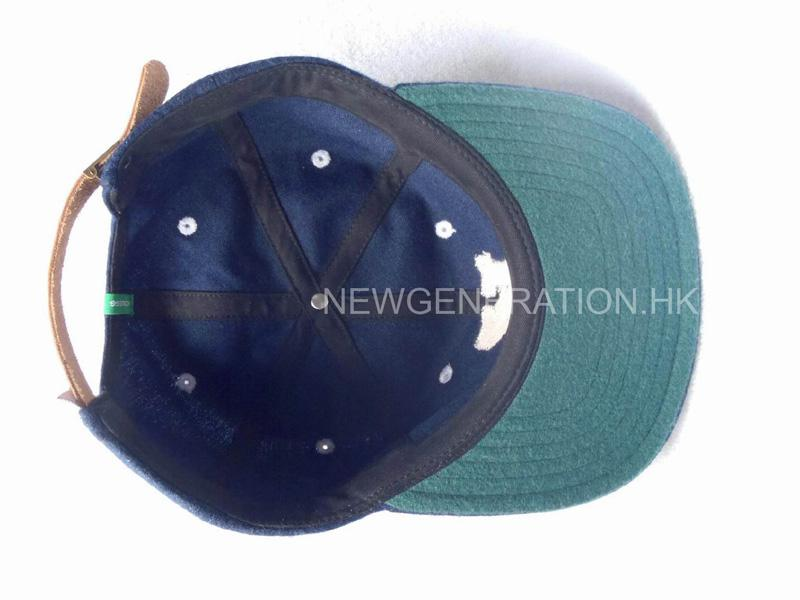 Wool Cap With Leather Strap6