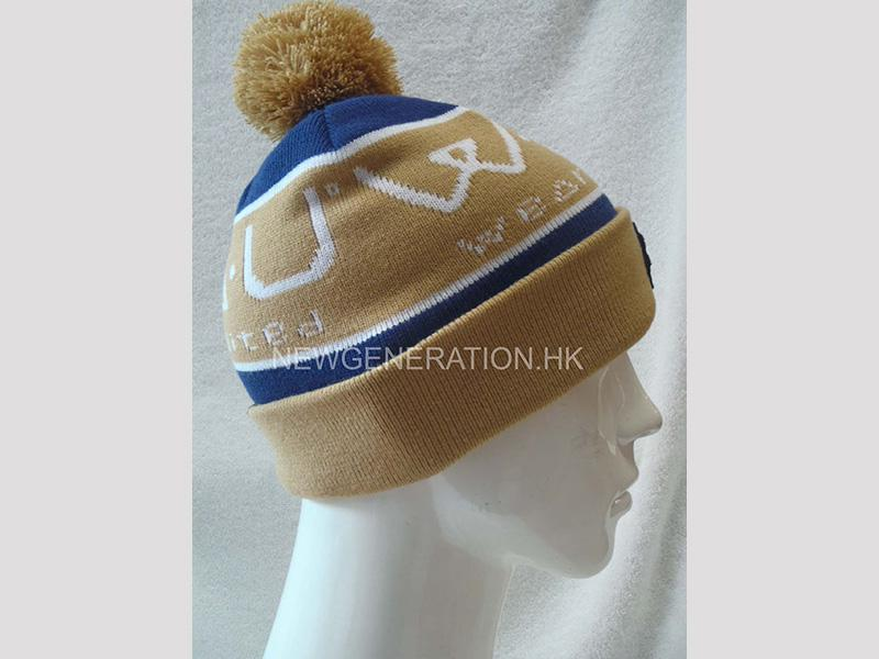 Jacquard Acrylic Beanie With Emb Patch3