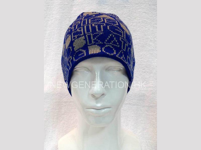 Beanie With Jacquard Pattern1