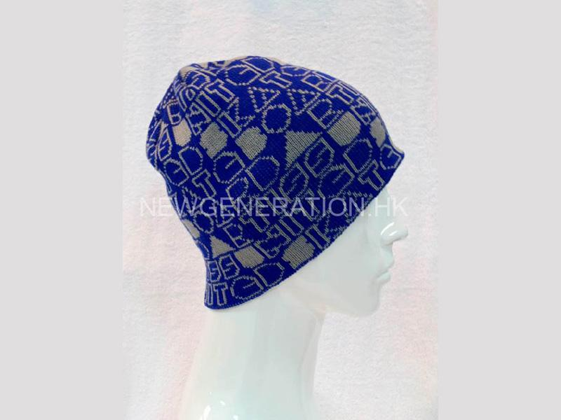 Beanie With Jacquard Pattern2