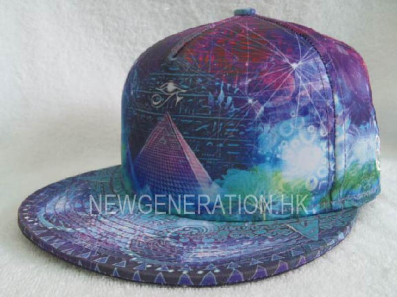 Sublimation Print Fitted Cap 2
