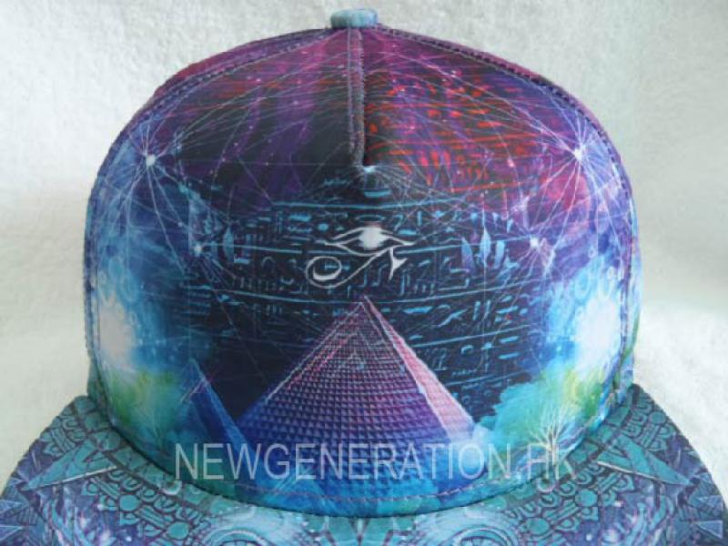 Sublimation Print Fitted Cap 3