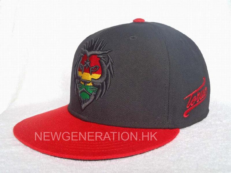 Acrylic Snapback Cap With Raised Embroidery2