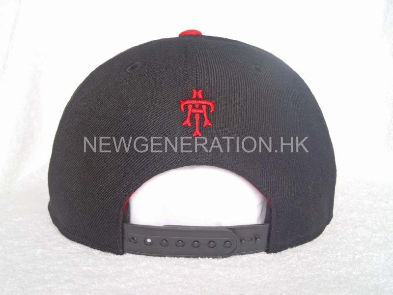 Acrylic Snapback Cap With Raised Embroidery5