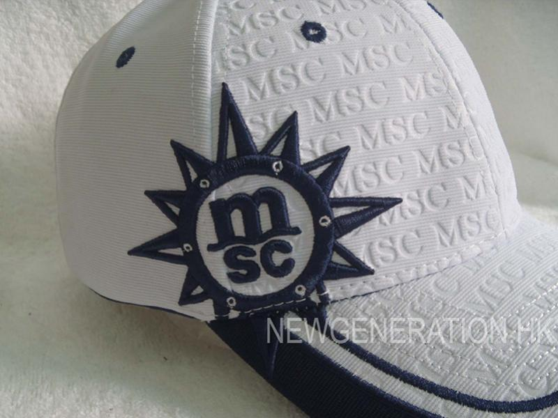 Embossed Ottoman Fabric Baseball Cap With 3d Embroidery3