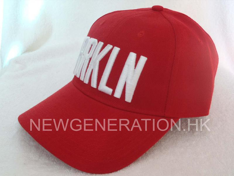 Acrylic Baseball Cap With Raised Embroidery And Velcro Closure2