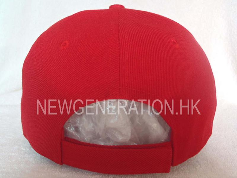 Acrylic Baseball Cap With Raised Embroidery And Velcro Closure4