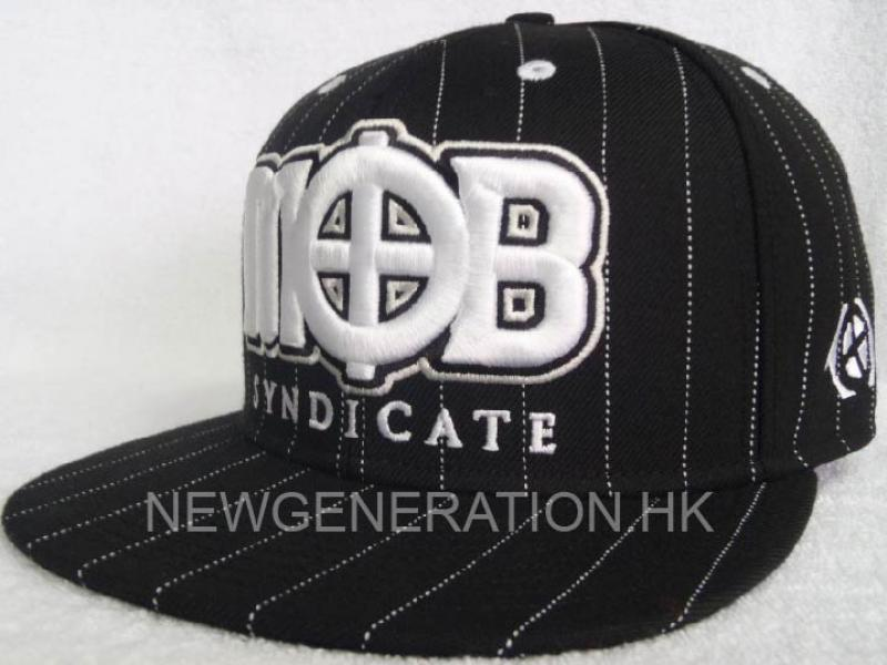 Premium Fitted Cap With 3d Emb.and Printed Lining2