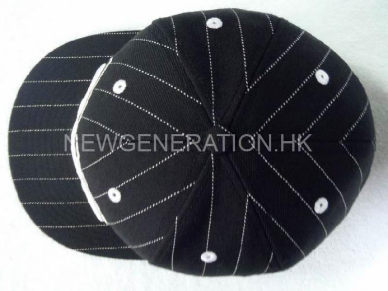 Premium Fitted Cap With 3d Emb.and Printed Lining4