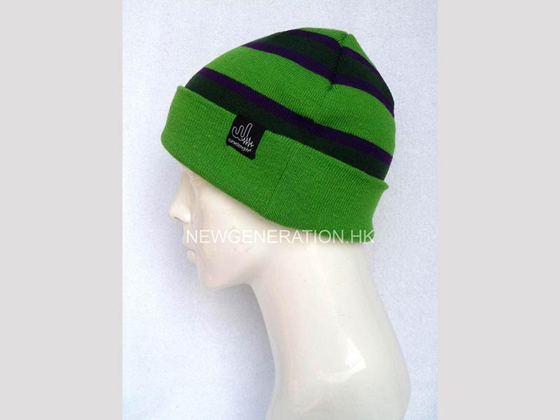 Tuque With Jacquard Stripes And Custom Label4