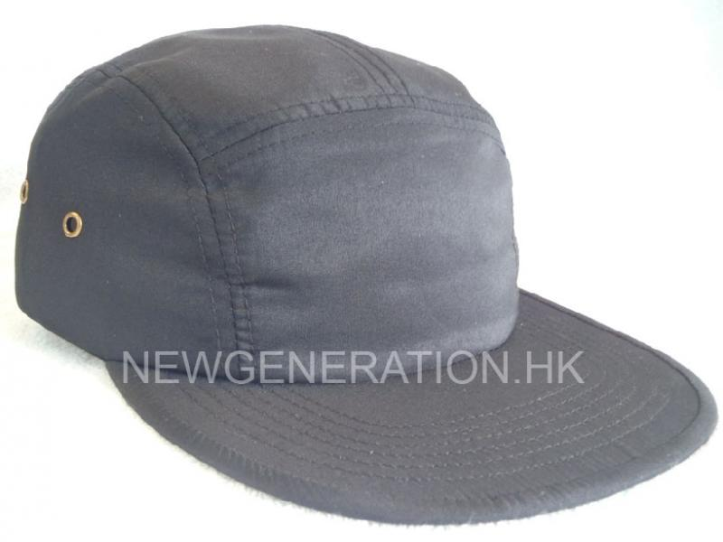 Polyester Five Panel Camp Cap